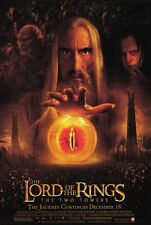 LORD OF THE RINGS: THE TWO TOWERS Movie POSTER 27x40 C Elijah Wood Ian McKellen