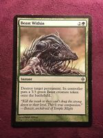 Beast Within NPH New Phyrexia   VO   -  MTG Magic (EX)