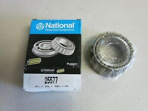 National 25577 Axle Differential Bearing fits Frazer, AMC, Jaguar 1948 - 2006