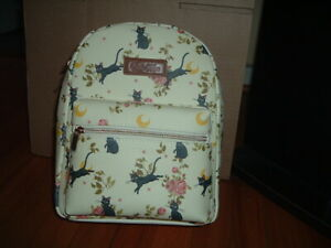 SAILOR MOON LUNA FLORAL MINI BACKPACK~ WITH TAGS~BRAND NEW