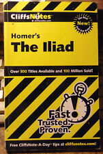 Homer's the Iliad by Cliffs Notes Staff and Bob Linn (2000, Paperback)