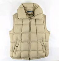 NEW - Ralph Lauren Polo Women's Gilet Bodywarmer Barley Beige down filled SIZE M