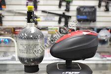 Dye Rotor LTR Paintball Loader Black/Red + Empire 48ci/4500psi Carbon Fiber Tank
