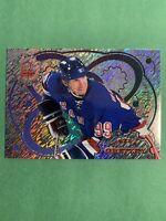1998-99 Pacific Omega Prisms #13 Wayne Gretzky New York Rangers Insert