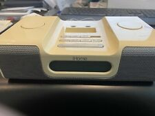 iHome Ih5 Alarm Clock W/Apple iTouch - Radio  Audio Dock System-Tested/Working