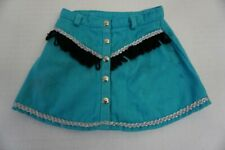 American Girl Pleasant Company Rootin' Tootin' Cowgirl Skirt Only Costume