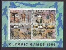 1988 Bahamas Olympic Games MS U/Mint SGMS834