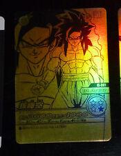 DRAGON BALL Z DBZ DATA BAKURETSU IMPACT CARD CARDDASS PRISM CARTE G-001 GOLDEN V