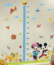 NEW Disney Mickey Minnie Mouse Growth Chart Height Measure Wall Decal Sticker