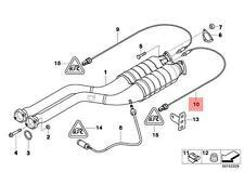Genuine BMW E85 E86 Coupe Lambda Probe Oxygen Sensor 1340MM OEM 11787837565
