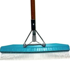 RealGrass Artificial Turf Rake Nylon 5 ft. Handle Synthetic Lawn Grass Outdoor