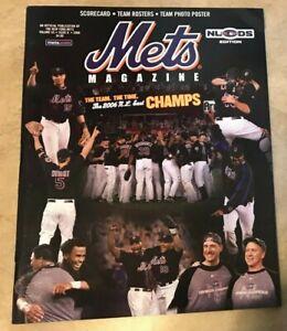 2006 New York Mets Division Series NLDS Magazine Program NEW