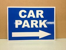 Car Park Direction Sign with Right Arrow  (PL-93)