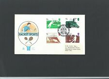 1977 Racquet Sports FDC with Badminton Assoc special H/S Cat £12.50
