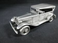 NEW 1929 Lancia Dilambda by the Danbury Mint Pewter Model European Classic Car