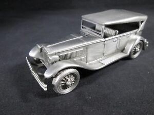 NEW 1929 Lancia Dilambda by the Danbury Mint Pewter Model European Classic Car