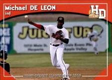 2016 High Desert Mavericks Grandstand #5 Michael De Leon Dominican Republic Card