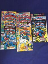 Captain America 400-409,411 Marvel 11 Issue Lot/ Run.  Marvel