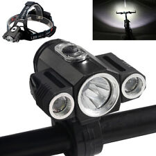35000Lumens Bike Bicycle Front LED Head Light Rechargeable 3xT6 Waterproof Lamp
