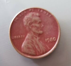 "1980.  Lincoln Memorial One Cent Coin.   "" Special Finish  ""  😄."