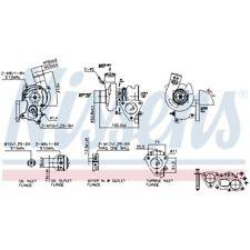 Nissens Turbolader Lader Aufladung Turbo 93065