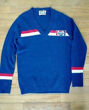 Vintage Pepsi Cola Bottle Advertising Sweater Sz Large Retro