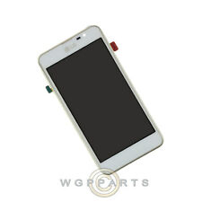 LCD Digitizer Frame Assembly for LG P875 Optimus F5 White Front Glass Touch