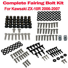 Complete Fairing Bolt Nuts Body Screws For Kawsaki ZX10R 2006-2007 Motorcycles