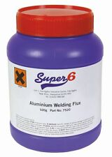 SWP 7520 soldadura de aluminio Fundente para Gas 500g Bañera x 1
