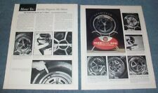 1969-1972 Ford Mustang Magnum 500 Wheels Vintage Info Article