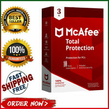 McAfee Total Protection 2020 Antivirus 🔥 3 Device 💻 10 Years🔰 instant Dεlive