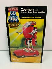 Tonka Super GOBOTS 1984 ZEEMON (026) Friendly Robot Street Machine Brand New