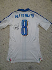 Puma 2016 Friendly Italy 8 Claudio Marchisio Signed Issued Authentic Away Jersey