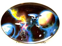 """Star Trek """"To Boldly Go"""" Collector Plate Space, The Final Frontier Hamilton"""