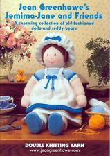 Jean Greenhowe Knitting Pattern Book Jemima Jane & Friends (JG-520)
