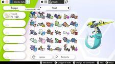 Stratégie Pack 6 Ultra Shiny Pokemon 6IV - Battle Ready - Pokemon Épée Bouclier