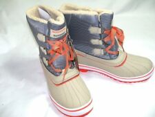 NEW Womens Sz 10 SKECHERS Winter Snow Boots Skech-tex 3M Thinsulate Insulation