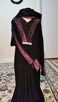 Ladies Abaya Jilbab Hijab Burqa Kaftan Muslim Islamic Traditional Dress