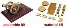 A6-3 Brass Cannon Material Kit (Model Maker Kit)