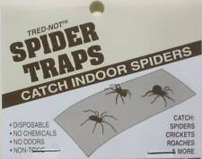 12 / Pack Trednot Spider Traps / Sticky Traps Catch, Kill spiders in your home