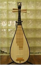 Chinese Lute Guitar Musical Instrument Pipa China Master Made Accessories Set