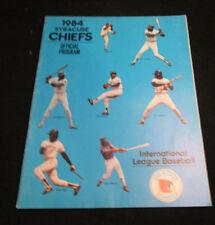 1984 Syracuse Chiefs AAA International League Official Program Opening Day