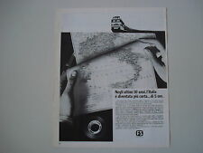 advertising Pubblicità 1973 FS FERROVIE DELLO STATO TRENI