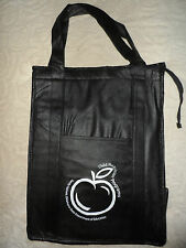 Reusable Insulated Grocery Tote W/Zipper  (set of 2 new)
