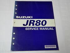 Manuel D'Atelier / Manuel D'Entretien Suzuki Jr 80 Stand 09/2000