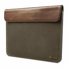 "Incase Pathway Slip Slim Sleeve Case for MacBook Air 11"" (Olive/Tan CL60425) New"