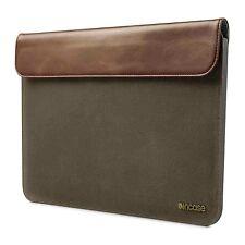 "Incase Pathway Slip Slim Sleeve Case for MacBook Air 11"" (Olive/Tan CL60425) New"