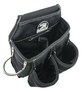 "Gatorback Discontinued 6 Pocket Contractor Tool Pouch Black. Fits 2"" Wide Belts"