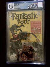 Fantastic Four 2 cgc 1.8 1st Skrulls 2nd FF MCU Secret Invasion 📈