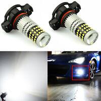 JDM ASTAR 2x 5202 H16 1200Lm 66 SMD Car LED Fog Driving Bulbs Xenon White Lamps